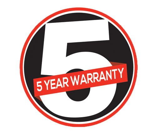 Casio 5-year warranty