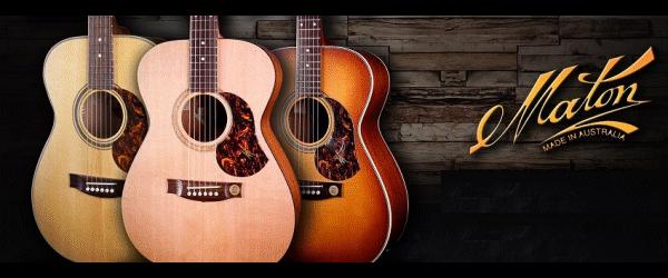 Maton Acoustic Guitars