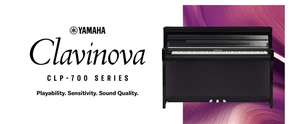 Yamaha Clavinova CLP-700 Series Banner