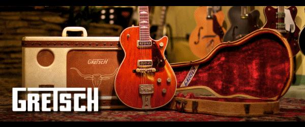 Gretsch Guitars banner
