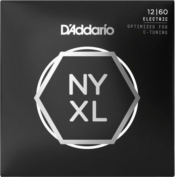 "D""Addario NYXL1260 Electric Guitar Strings"